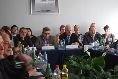 Участники дискуссии