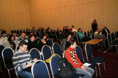 На семинаре присутствовали оптометристы из разных регионов страны.